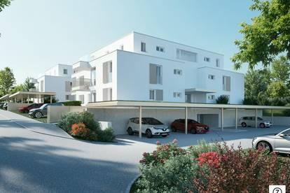 Neubau - Provisionsfrei: 3-Zi.-Wohnung mit ca. 11 m² S/W-Terrasse