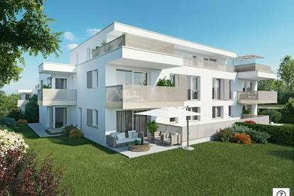 Neubauprojekt in Seekirchen: 3-Zi.-Wohnung mit ca. 10 m² S/W-Terrasse