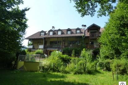 Am Stadtrand von Salzburg - Lengfelden: 3 Zi.-Maisonettewohnung in idyllischer Naturlage mit Blick auf die Fischach