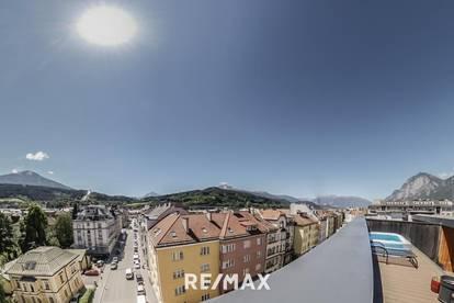 NEU! Exklusives Wohnen in Bestlage - Penthouse im Zentrum von Innsbruck