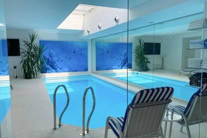 Moderne Luxus - Villa in idyllischer Hügellage mit sagenhaftem Weitblick auf ganz Wien