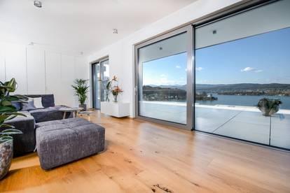 Lichtdurchflutete Wohnung mit sagenhaftem Wörthersee-Panoramablick
