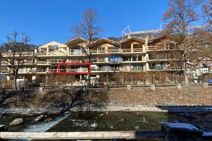 Luxus Chalet Piz Jeramias, 1. Obergeschoss - Komplett eingerichtet, Südausrichtung, 2 Schlafzimmer (6 Pers.), Sauna, Dampfbad, Kamin