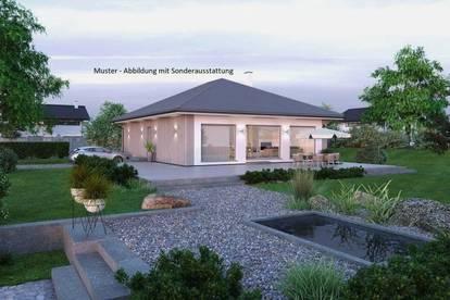 Randlage St.Florian - Schöner ELK-Bungalow und Grundstück mit Gebirgsblick (Wohnfläche - 104m² & 120m² möglich)