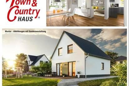 Nahe Hellmonsödt/Zwettl - Schlüsselfertiges TC-Ziegelmassivhaus mit Keller Fußbodenheizung und Grundstück
