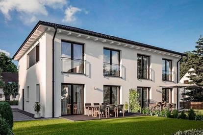 Schlüsselfertiges - TC-Ziegelmassivdoppelhaus mit Grundstück in ausgezeichneter Lage