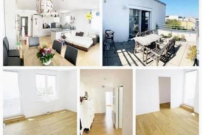 Schwechat - Schöne Wohnung mit Dachterrasse und Tiefgaragenplatz