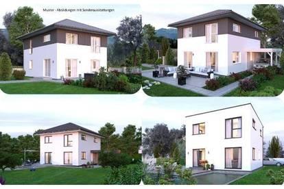 Randlage Rothenthurn - Elkhaus und Grundstück in leichter Hanglage mit Ausblick (Wohnfläche - 117m² - 129m² & 143m² möglich)