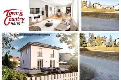 Randlage Wolfsberg - Schlüsselfertiges TC-Ziegelmassivhaus mit Fußbodenheizung und Grundstück