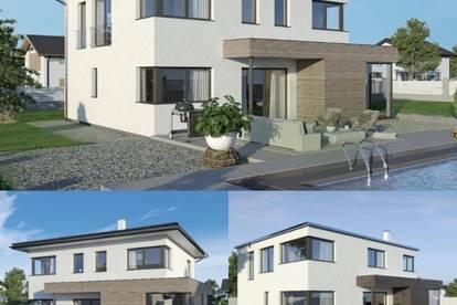 Weiten - Schönes ELK-Design-Haus und Grundstück in leichter Hanglage (Wohnfläche - 130m² & 148m² & 174m² möglich)