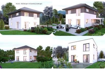 Nahe/St.Pölten&Amstetten - Schönes Elkhaus und ebenes Grundstück (Wohnfläche - 117m² - 129m² & 143m² möglich)