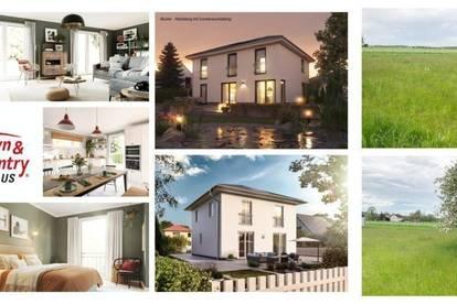 Randlage Mattighofen - Schlüsselfertiges TC-Ziegelmassivhaus und ebenes Grundstück