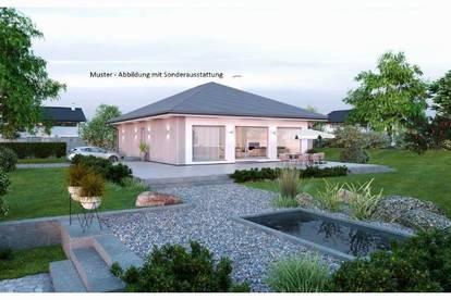Nahe Gunskirchen/Wels - Schöner ELK-Bungalow und Grundstück (Wohnfläche - 104m² & 120m² möglich)