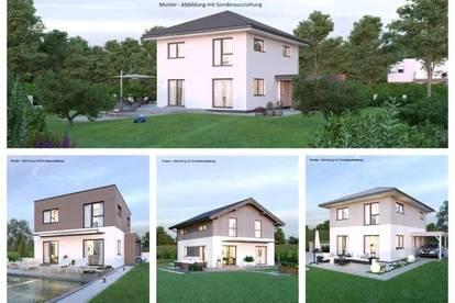 Mannersdorf - Schönes Elkhaus und ebenes Grundstück (Wohnfläche - 117m² - 129m² & 143m² möglich)