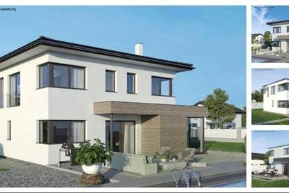 Mannersdorf - ELK-Design-Haus und ebenes Grundstück (Wohnfläche - 130m² & 148m² & 174m² möglich)