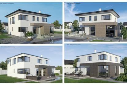 Strasshof - ELK-Design-Haus und ebenes Grundstück (Wohnfläche - 130m² & 148m² & 174m² möglich)