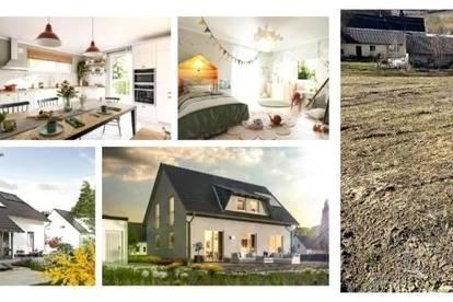 Nahe Gleisdorf/Pöllau - TC-Ziegelmassivhaus mit Keller, Fußbodenheizung und Grundstück