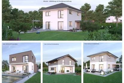 Randlage Döbriach - Schönes ELK-Haus und ebenes Grundstück (Wohnfläche - 117m² - 129m² & 143m² möglich)