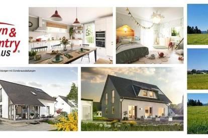 Glantschach - Schlüsselfertiges TC-Ziegelmassivhaus mit Fußbodenheizung und Grundstück