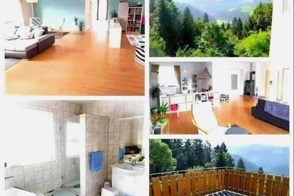 Randlage Voitsberg - Schöne Wohnung mit Garten,Garage und einer Terrasse mit Ausblick