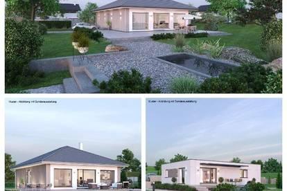 Nahe Amstetten - Schöner ELK-Bungalow und Grundstück (Wohnfläche - 104m² & 120m² möglich)