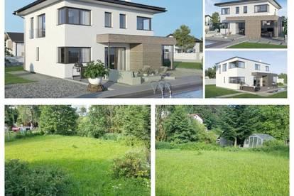 Koglerau/Nahe Urfahr-Pöstlingberg - ELK-Design-Haus und Grundstück (Wohnfläche - 130m² & 148m² & 174m² möglich)