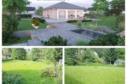 Koglerau/Nahe Urfahr-Pöstlingberg - ELK-Bungalow und Grundstück (Wohnfläche - 104m² & 120m² möglich)