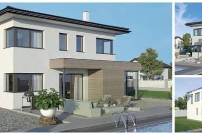 Randlage St. Stefan - Schönes ELK-Design-Haus und ebenes Grundstück (Wohnfläche - 130m² & 148m² & 174m² möglich)