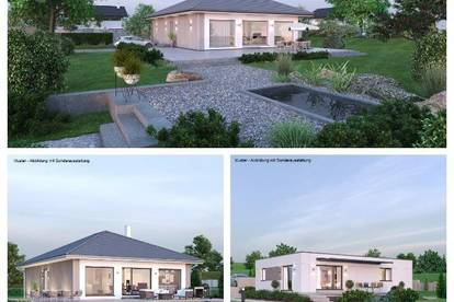 Randlage St.Andrä - Schöner ELK-Bungalow und Grundstück (Wohnfläche - 104m² & 120m² möglich)