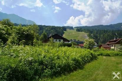 Sonniges Grundstück in Tröpolach / Nassfeld
