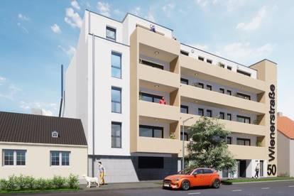 Kompakte Singlewohnung mit großem Balkon