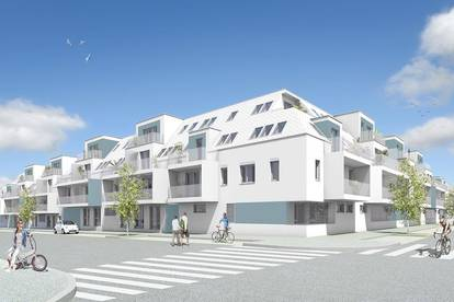 2-Zimmer-Erstbezugswohnung Neubau inkl Komplettküche, Loggia Außenfläche und Kellerabteil / 201 EG