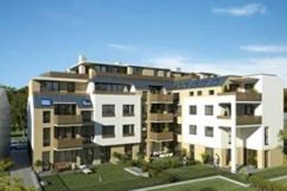 4-Zimmer-Neubauwohnung inkl Komplettküche, zwei Badezimmern und 20m² Balkonfläche und Garagenstellplatz zu €100,00 inklusive