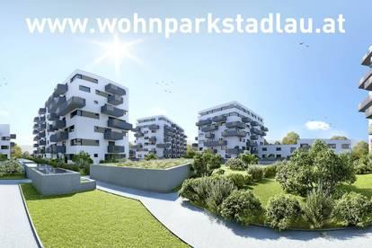 Erstbezug 2-Zimmer-Neubauwohnung in Stadlau Toplage inkl Markenküche, Terrasse und Kellerabteil