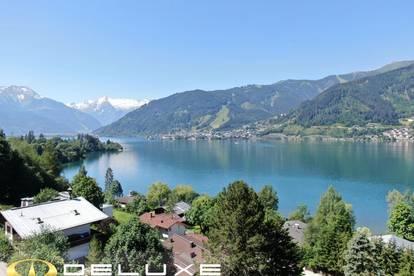 Zell am See: freistehende Villa 300 m2 Wfl. mit sensationellem Rundumblick oberhalb dem Zeller See | touristisch vermietbar | große Garage | Lift