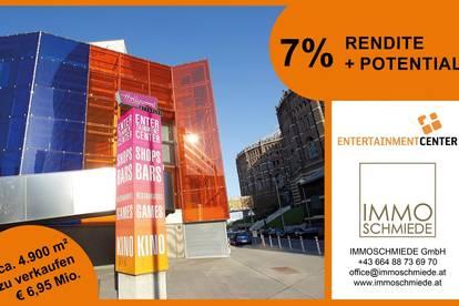 Top Anlage - Entertainmentcenter Gasometer - 7% Rendite + Potential