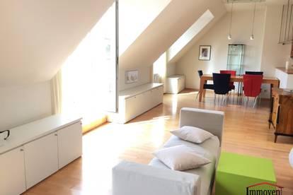 PENTHOUSE mit Balkon und Dachterrasse im Servitenviertel - Garage inklusive!