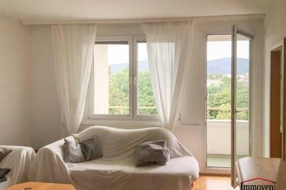 ABSOLUTE RUHELAGE! Gepflegte Wohnung mit Loggia und traumhaftem Fernblick (derzeit befristet vermietet bis 31.12.2025)