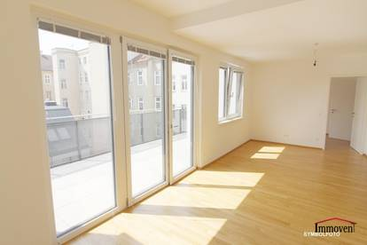 Wohnen und Wohlfühlen im schönen Neubau mit großem Balkon