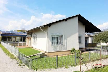 An der Mur gelegenes Einfamilienhaus mit Doppelgarage und Werkstatt!