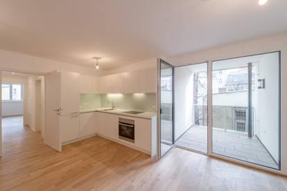 perfekt 2-Zimmer-Wohnung mit Balkon