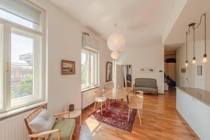 ab sofort: gemütliche, modern ausgestattete Altbauwohnung (3 Zi.) beim Stubentor!
