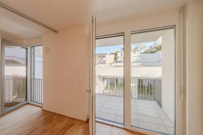 perfekter Rückzugsort inmitten der Stadt - 2 Zimmer + Balkon (ERSTBEZUG)!
