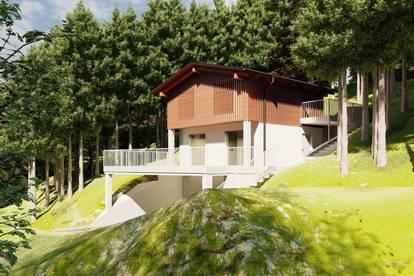 Zweitwohnsitz möglich: südwestlich ausgerichtetes Baugrundstück in Mariazell: Sankt Sebastian, Waldpromenade 15