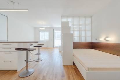 VIDEO-TOUR: hochwertig möbliertes Apartment mit Loggia in der Kohlgasse - ab 15.07. beziehbar!