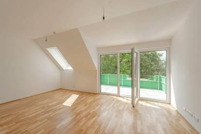 Wohnen in Hirschstetten: freundliche, helle 2 Zimmer Wohnung mit großzügigem Balkon