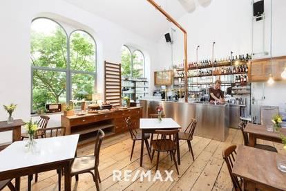 Restaurant mit Veranstaltungsloft u. Innenhofgarten !