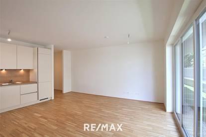 ERSTBEZUG in Strebersdorf: 2 Zimmer mit kleinem Garten und Fitnessraum im Haus. Weitere Wohnungen im Haus verfügbar!