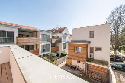 Erholung und Ruhe mitten im Zentrum - Moderne Maisonette mit großer Terrasse