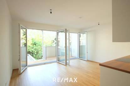 Modern, großer Balkon hofseitig, ruhig, hell, ALLES wie NEU!  2 Zimmer mit bester Ausstattung und super Infrastruktur!